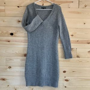 Grey Sweater Dress 🤍